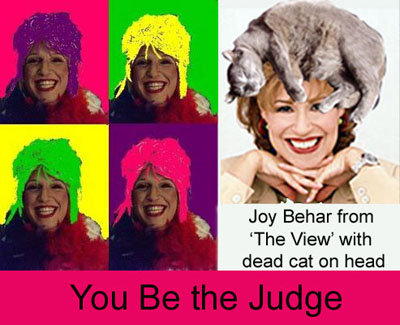 Joy Behar Drag Queen
