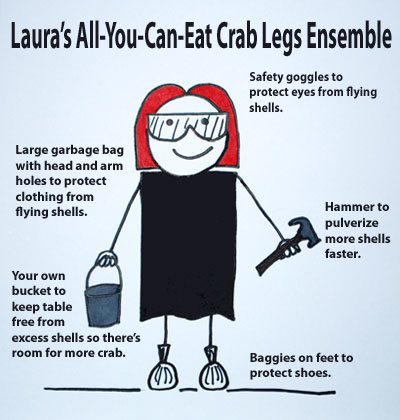 All-You-Can-EAt Crab Legs Ensemble