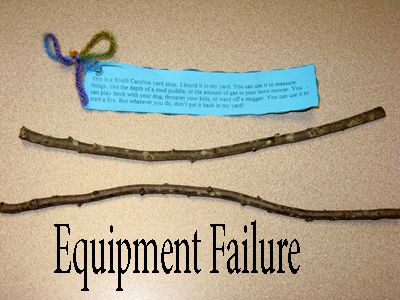 Stick Failure