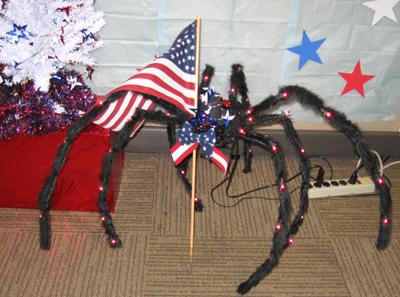 Memorial Day Spider